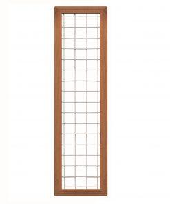 Bangkirai Hardhouten Trellisscherm 180x45cm 103386