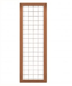 Bangkirai Hardhouten Trellisscherm 180x60cm