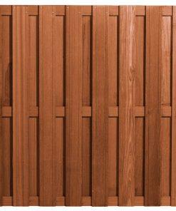Bangkirai Hardhouten Tuinscherm 15 planks 103380