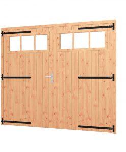 Opgeklampte deur XL dubbel | inclusief bovenraam