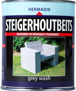 Hermadix Steigerhoutbeits Grey Wash 750ml