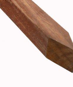 Azobe Hardhouten Paal 70 x 70 mm