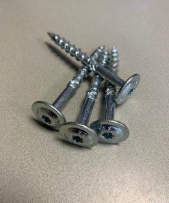 Flenskopschroef verzinkt 8.0x120mm