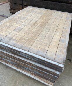 Hardhouten steenschot 110 x 140 x 4,5 cm